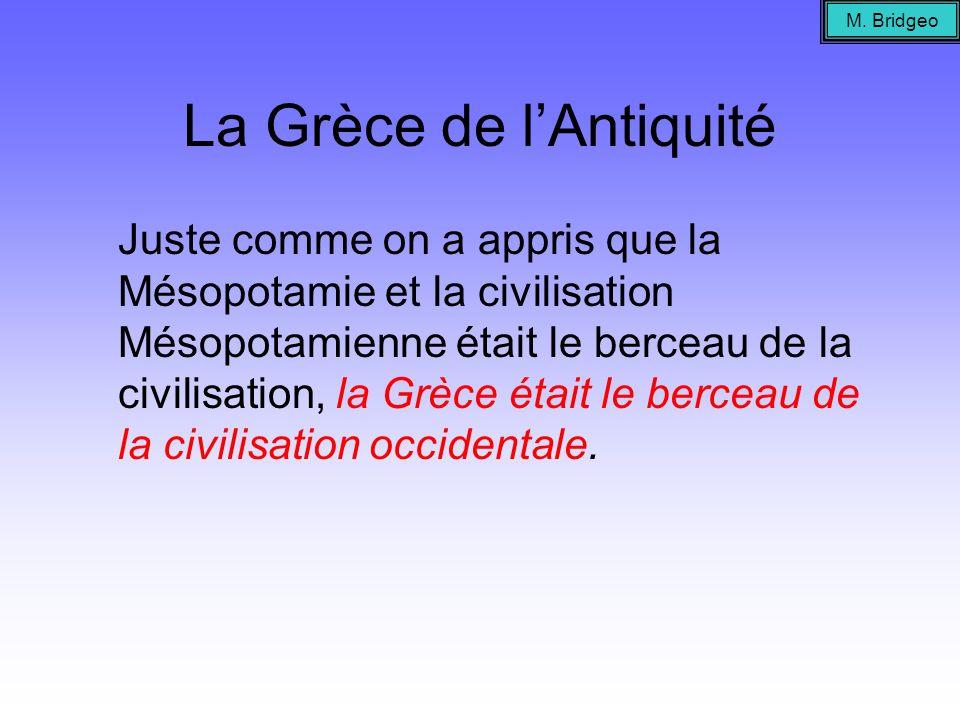 La Grèce antique Quest-ce que nous devons à la Grèce antique???.
