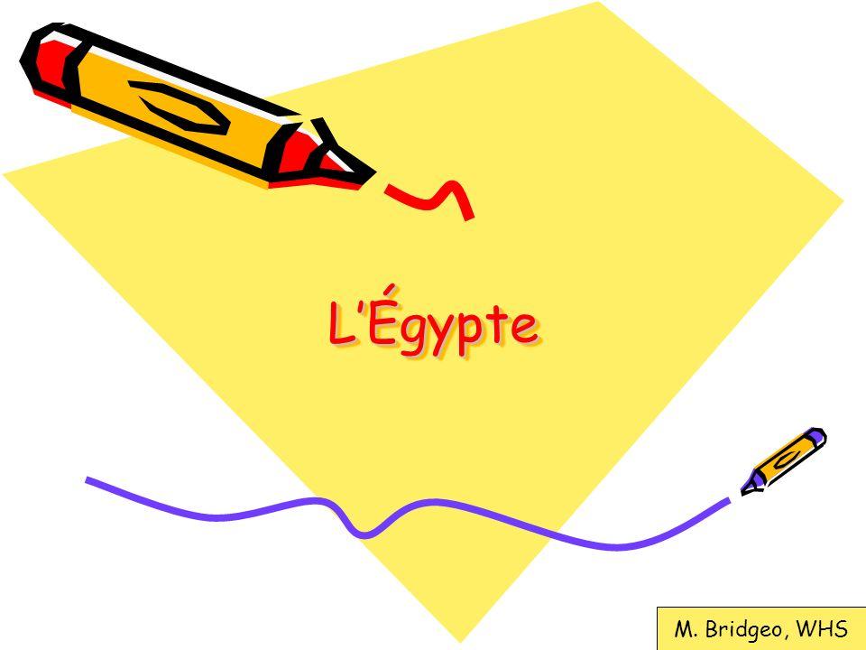 LÉgypte – les divinités On a étudié les dieux et les déesses (5, actuellement!) On sait quil y avait plus que 500 et que cétait une système polythéiste (qui croit en plus quun dieu) On sait que les dieux et les déesses prenaient plusieurs formes: mi-humain et mi-animal, humain, animal, et objets.