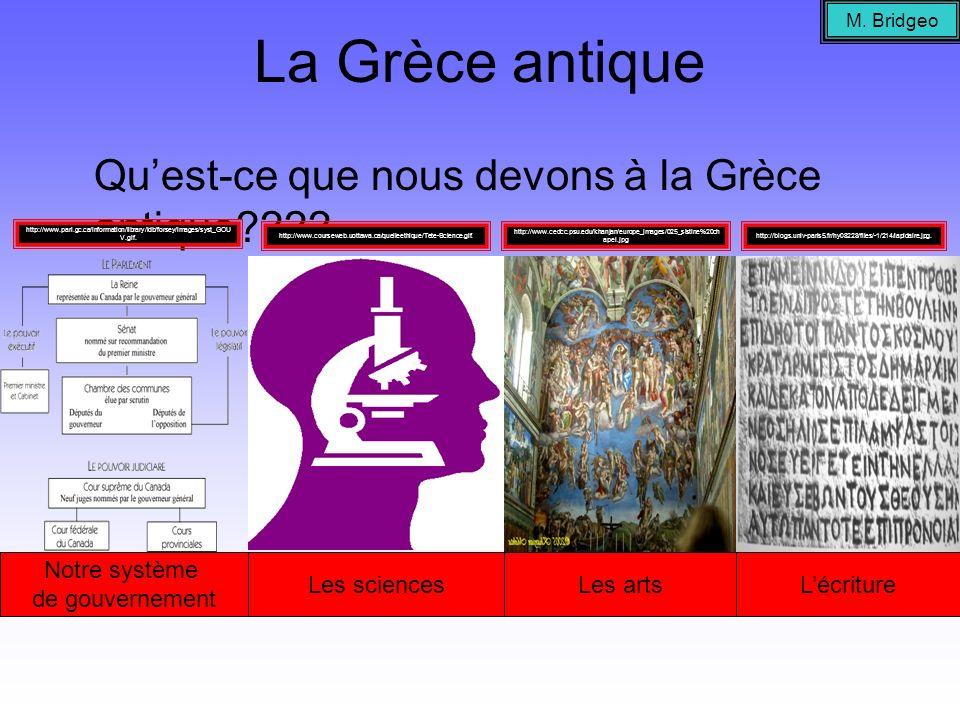 La Grèce de lAntiquité…la géographie La Grèce est un pays dîles, et cétait aussi un pays de montagnes (80% du pays est montagneux).