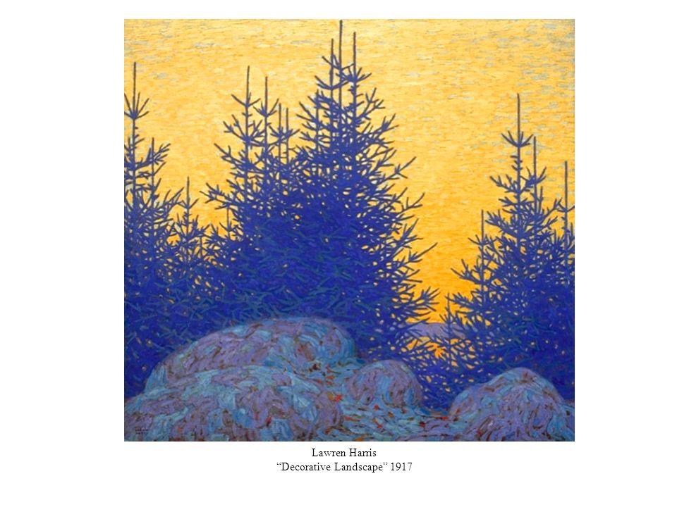 Lawren Harris Decorative Landscape 1917