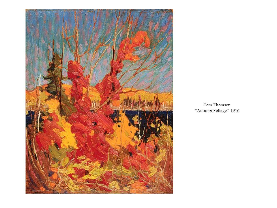 Tom Thomson Autumn Foliage 1916