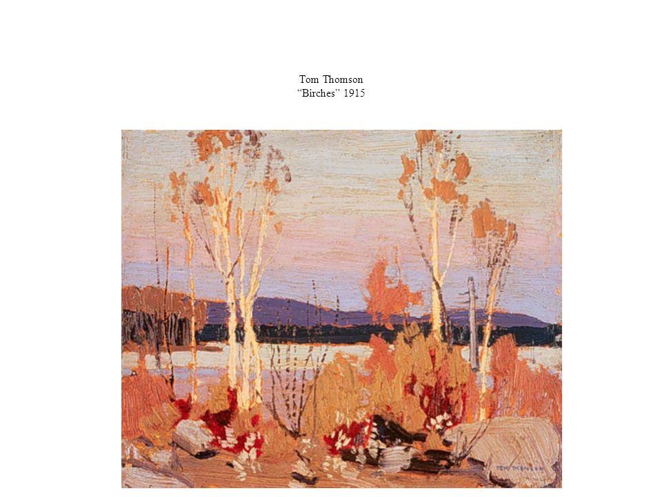 Tom Thomson Birches 1915