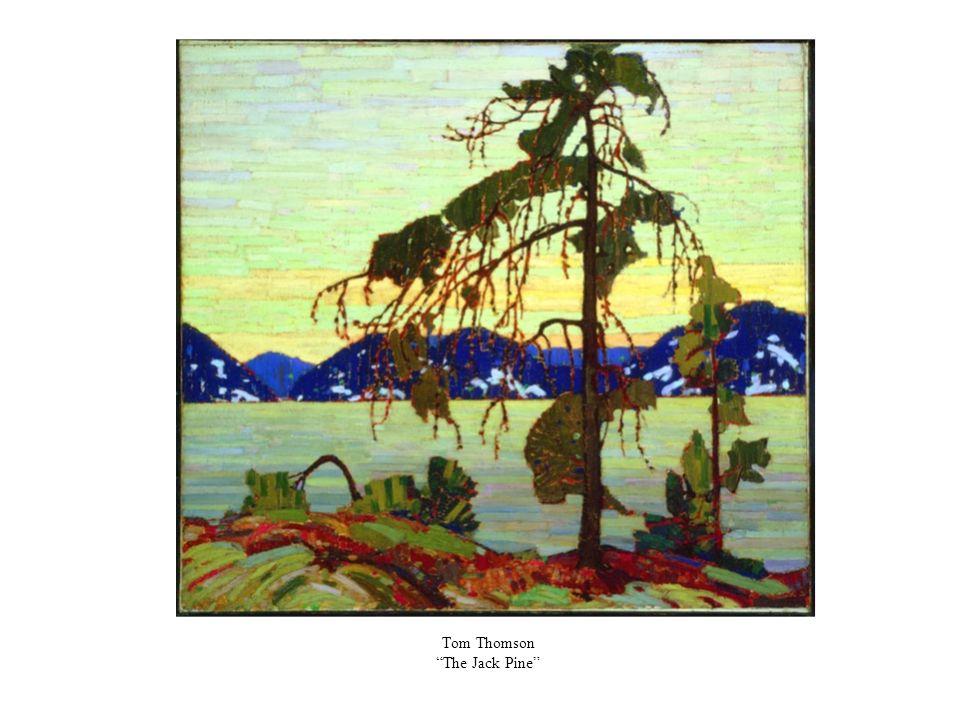 Tom Thomson The Jack Pine