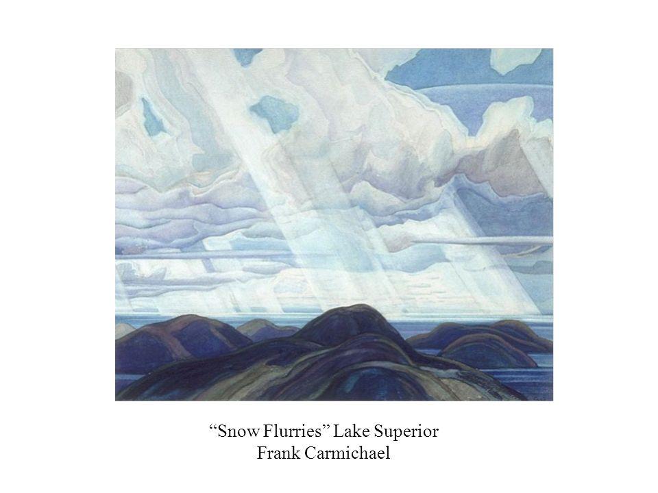 Snow Flurries Lake Superior Frank Carmichael