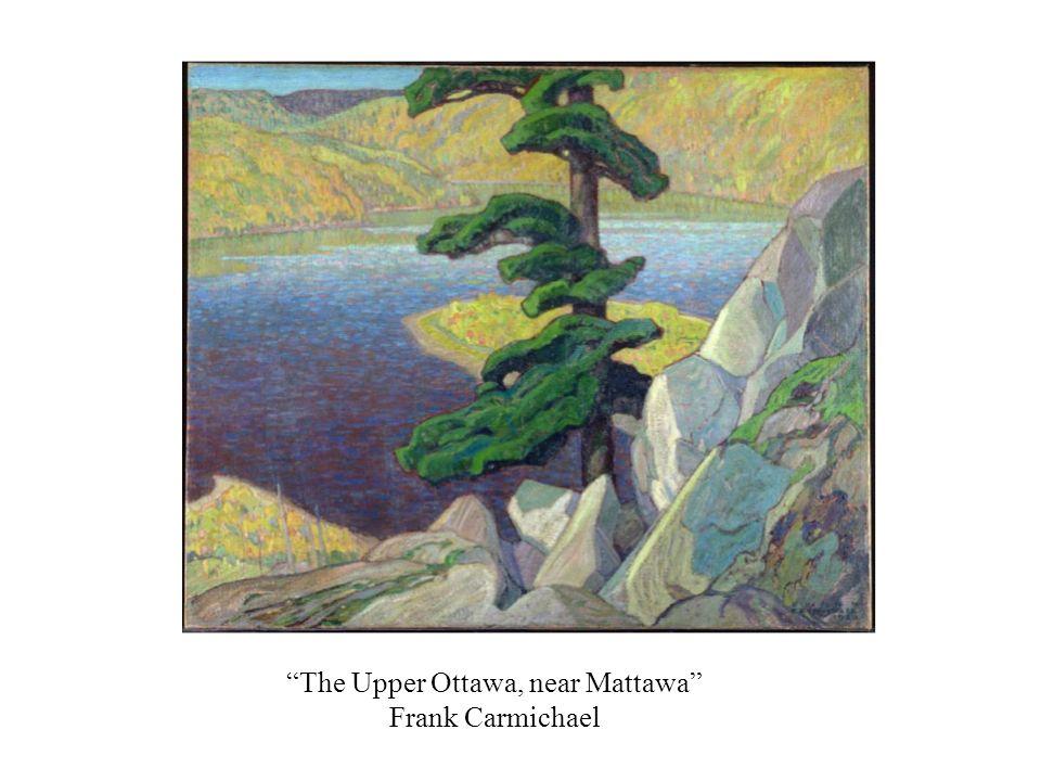 The Upper Ottawa, near Mattawa Frank Carmichael