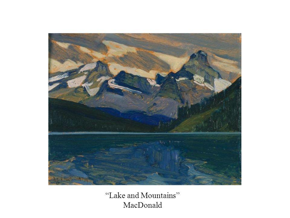 Lake and Mountains MacDonald
