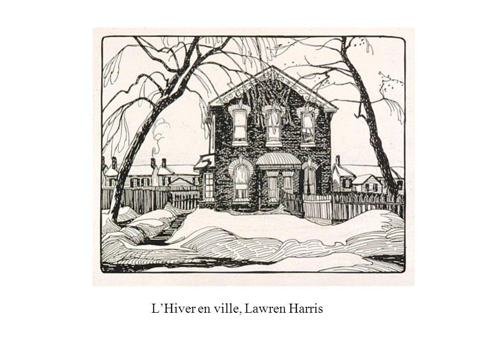 LHiver en ville, Lawren Harris