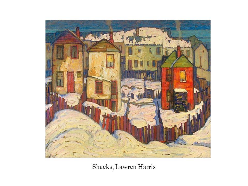 Shacks, Lawren Harris