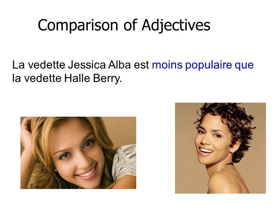 Les romans de la saga Twilight sont aussi fascinants que les films. Comparison of Adjectives