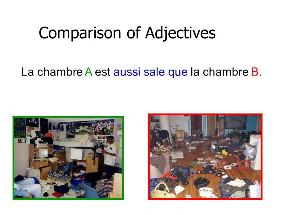 Activité: Comparison of Adjectives Le film, The Croods est ???.