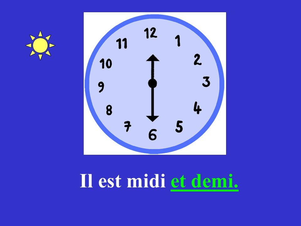 Donnez lheure! (a)(b) (c)