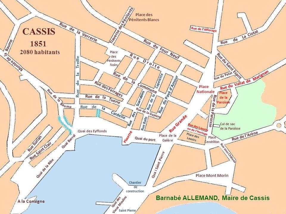 Ba Rue de La Ciotat Place des Pénitents Noirs Rue Surian Rue Saint Clair A la Consigne Rue de lArène Place des Pénitents Blancs Rue de la Rue de Tueri
