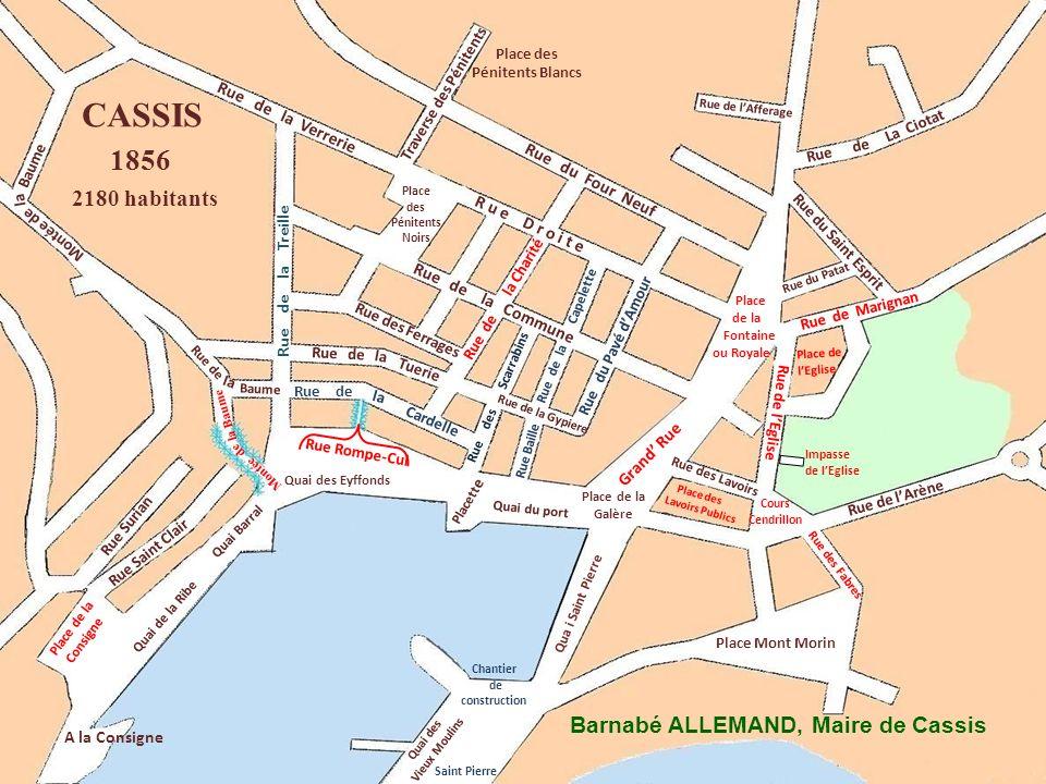 Ba Rue du Vallat Rue de La Ciotat Place Nationale Place des Pénitents Noirs Rue Surian Rue Saint Clair A la Consigne Rue de lArène Place des Pénitents