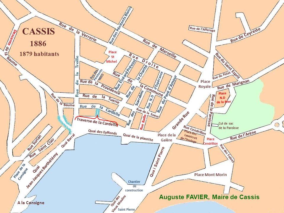 Rue des Pénitents Noirs Grande Rue Cardelle Ruede Rue de Providence Rue de Marseille Rue des Pénitents Blancs Quai des Eyffonds Rue des Fabres Rue du