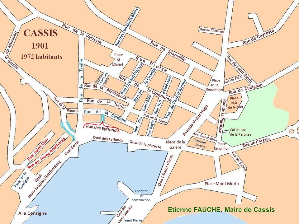 Qua i Saint Pierre Rue des Pénitents Noirs Rue de la Treille Cardelle Ruede Rue de Rue Bayle Rue de Marseille Rue des Pénitents Blancs Quai des Eyffon