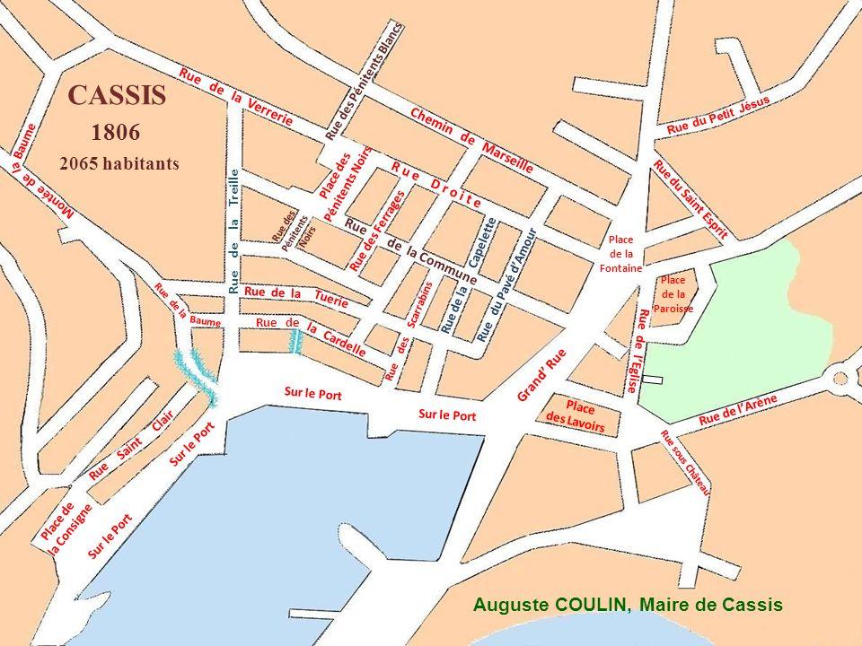 Rue de la Commune Rue Chère Mère Route Départementale Rue des Pénitents Noirs Rue de la Capelette Grand Rüe Rue de la Treille Rue du Pavé dAmour CASSI