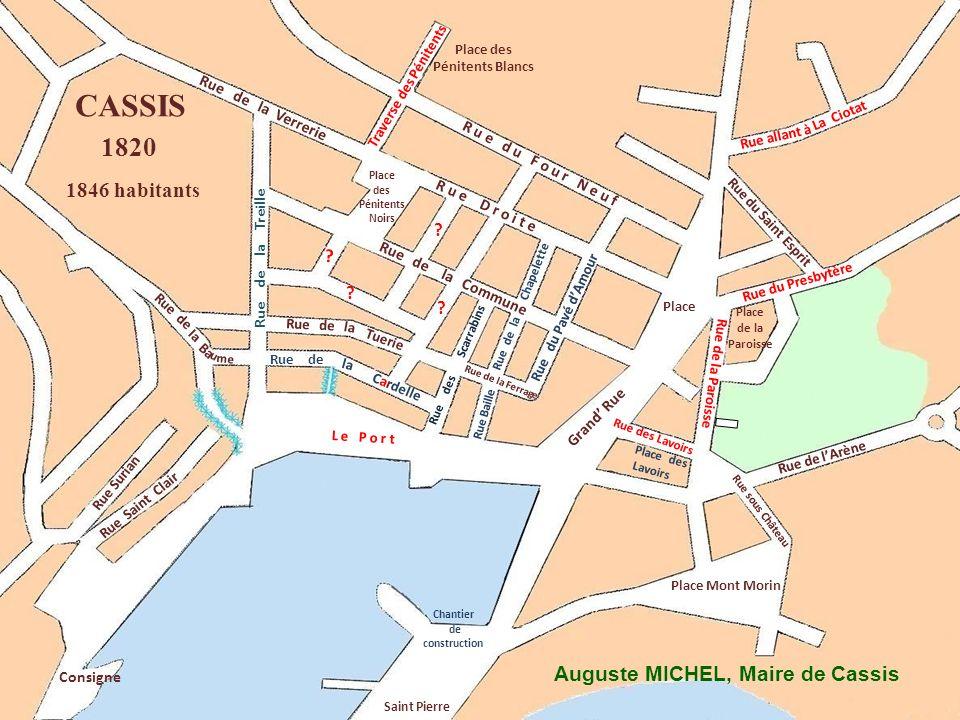 Ba me Rue de u Chemin de La Ciotat Grand Rue R u e d u F o u r N e u f Place des Pénitents Noirs Rue Surian Consigne Rue de lArène Place des Lavoirs P