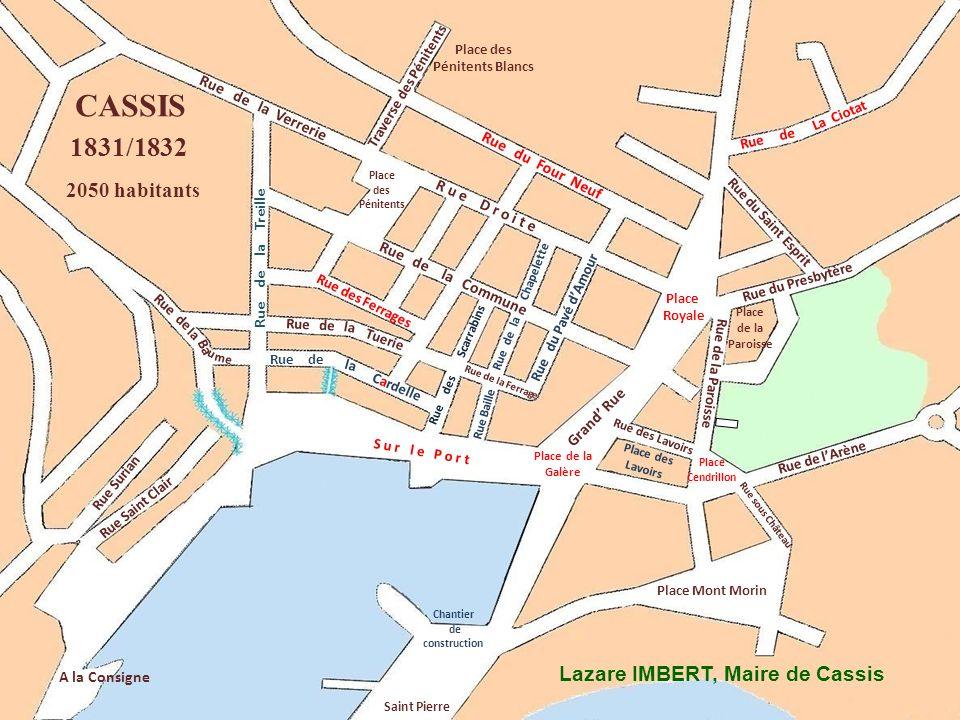 u Ba me la Rue de Rue allant à La Ciotat Grand Rue Place des Pénitents Noirs Rue Surian Consigne Rue de lArène Place des Pénitents Blancs Rue de la Fe