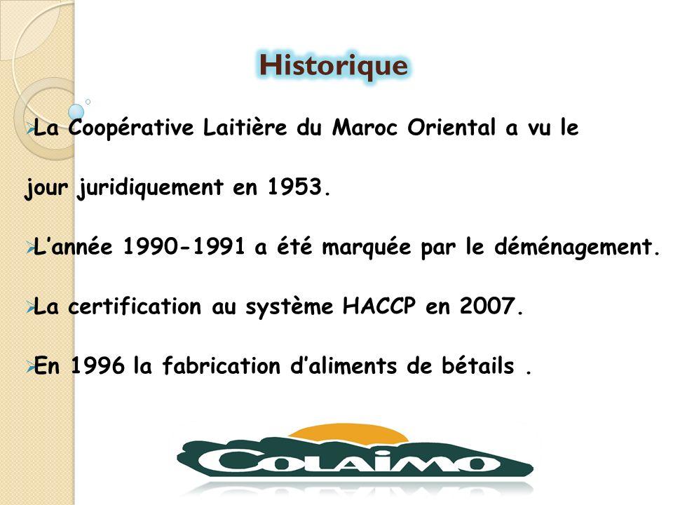 La mission principale de la COLAIMO est la valorisation de la production laitière de ses adhérents.