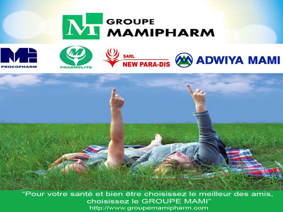 HISTORIQUE: La première société du Groupe MAMIPHARM est crée par M.