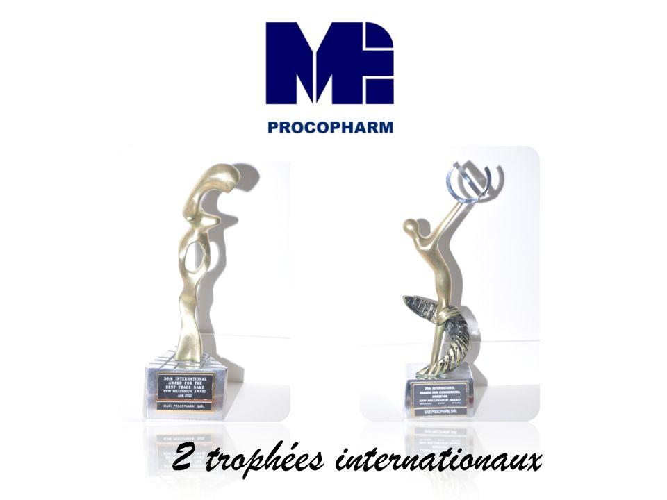 2 trophées internationaux