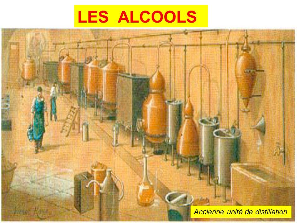 LES ALCOOLS Ancienne unité de distillation