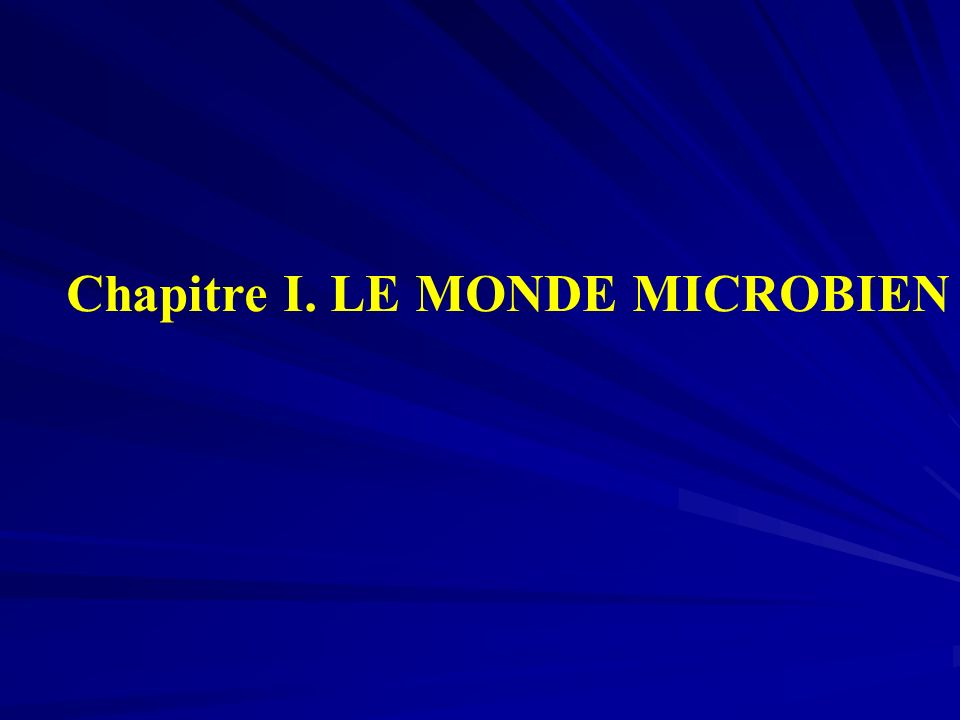 A.Définition de la microbiologie * Microbiologie = Science qui étudie les micro- organismes.
