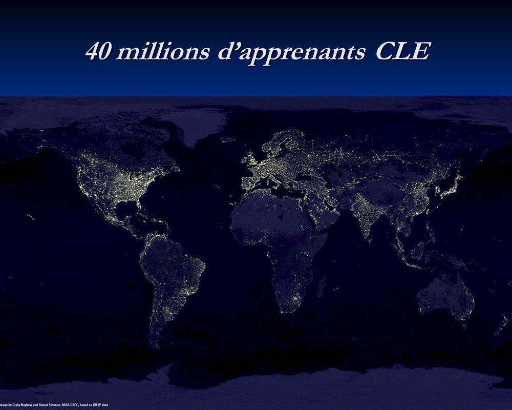 40 millions dapprenants CLE