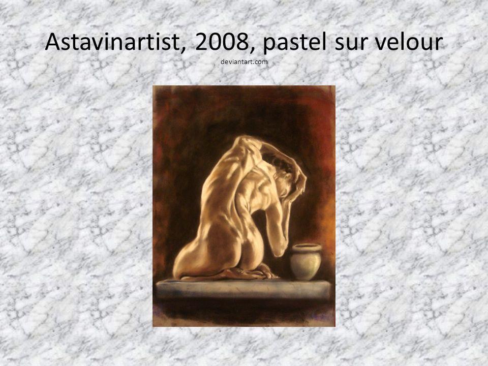 Astavinartist, 2008, pastel sur velour deviantart.com