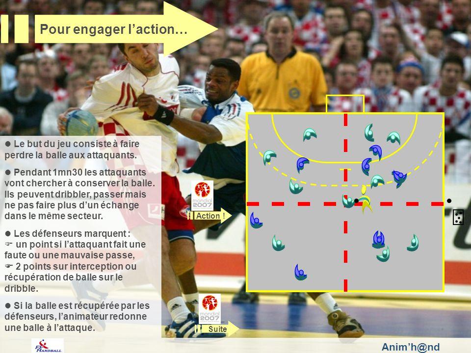 Animh@nd Le but du jeu consiste à faire perdre la balle aux attaquants.