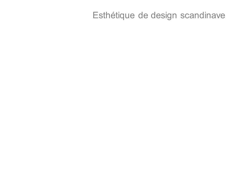 Esthétique de design scandinave