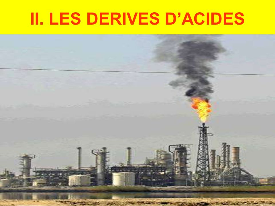 II. LES DERIVES DACIDES
