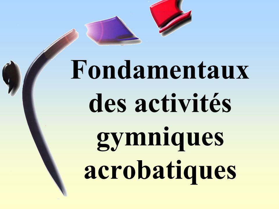 Fondamentaux des activités gymniques acrobatiques