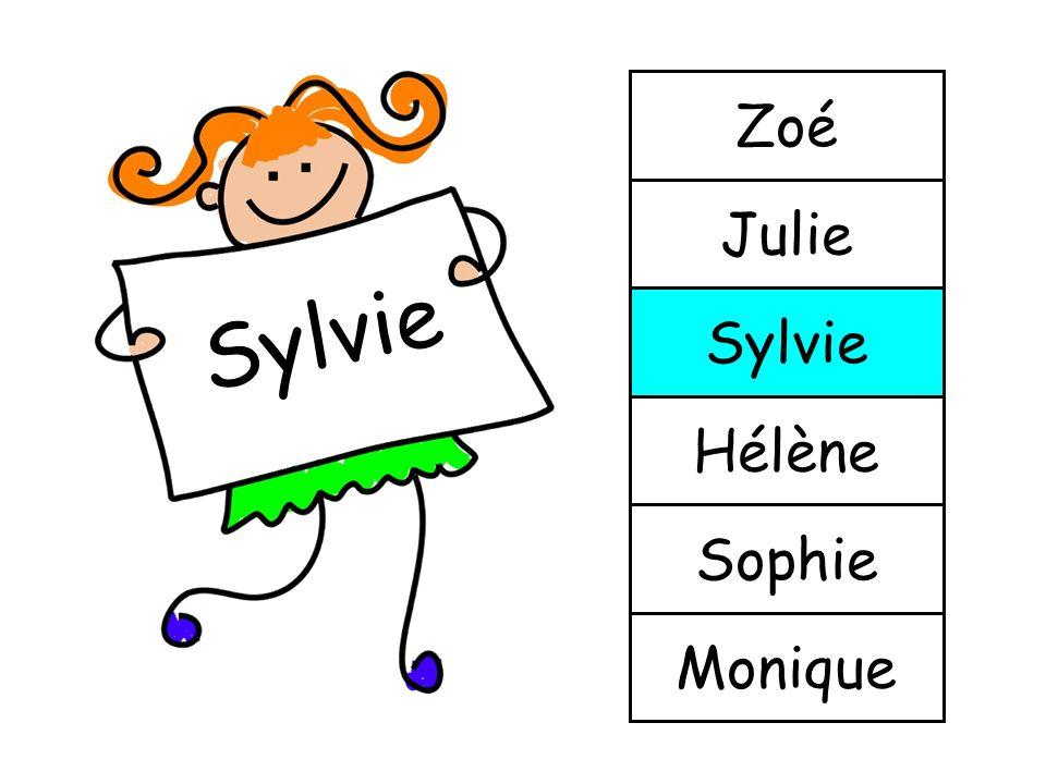 Julie Monique Sophie Hélène Sylvie Julie Zoé