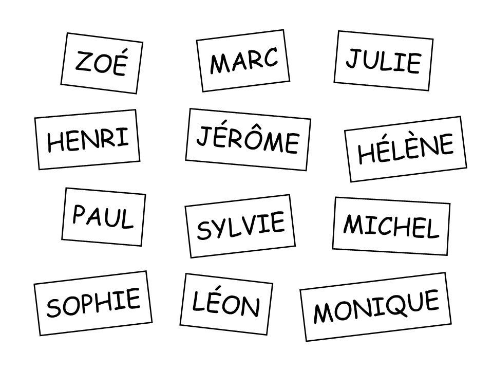 Monique Sophie Hélène Sylvie Julie Zoé