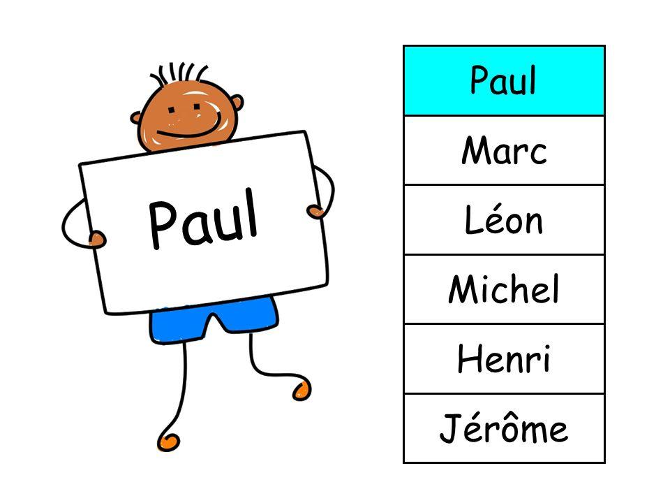 Jérôme Henri Michel Léon Marc Paul