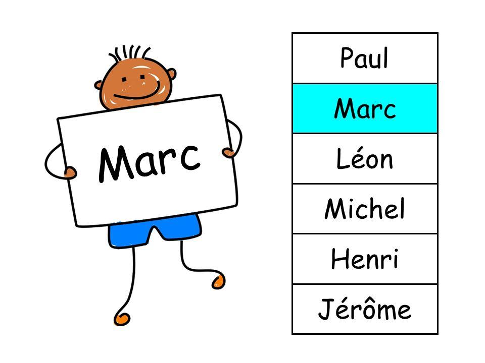 Marc Jérôme Henri Michel Léon Marc Paul
