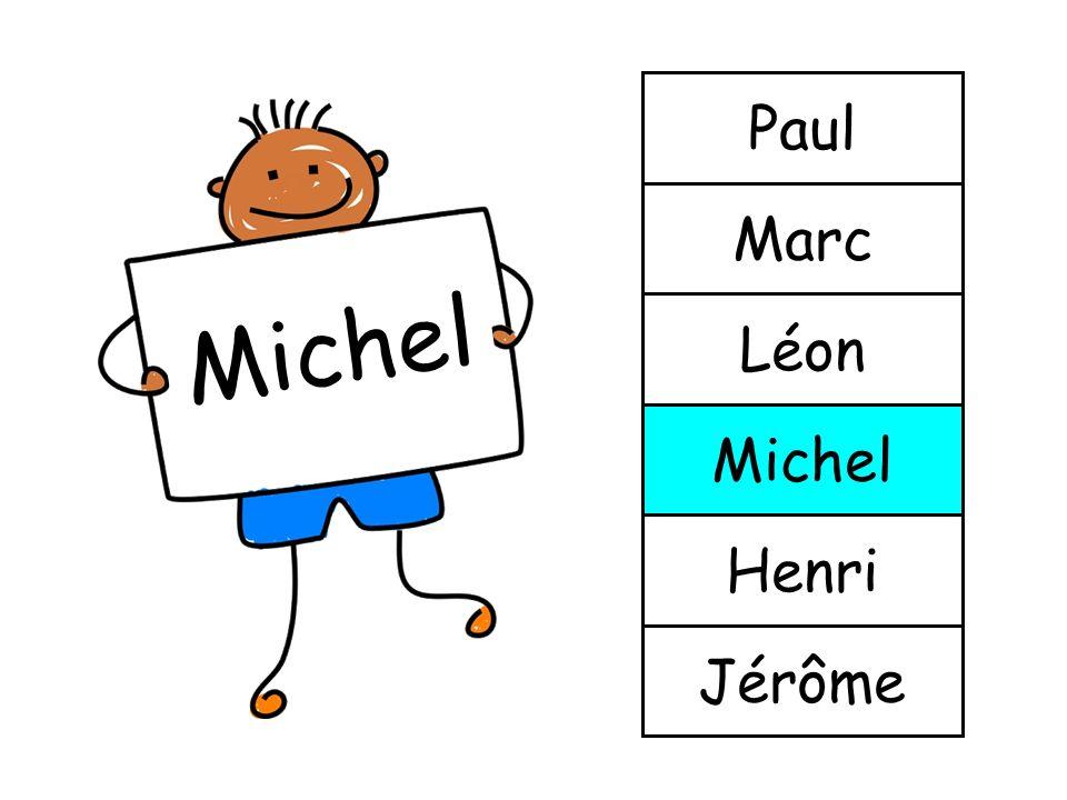 Michel Jérôme Henri Michel Léon Marc Paul