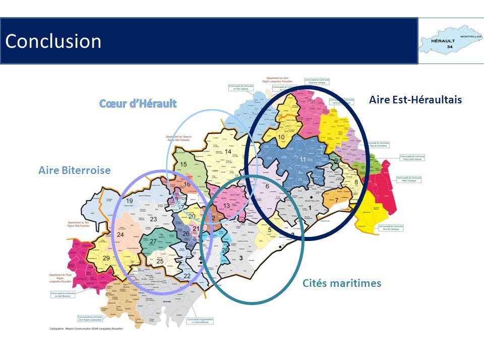 Aire Est-Héraultais Aire Biterroise Cités maritimes