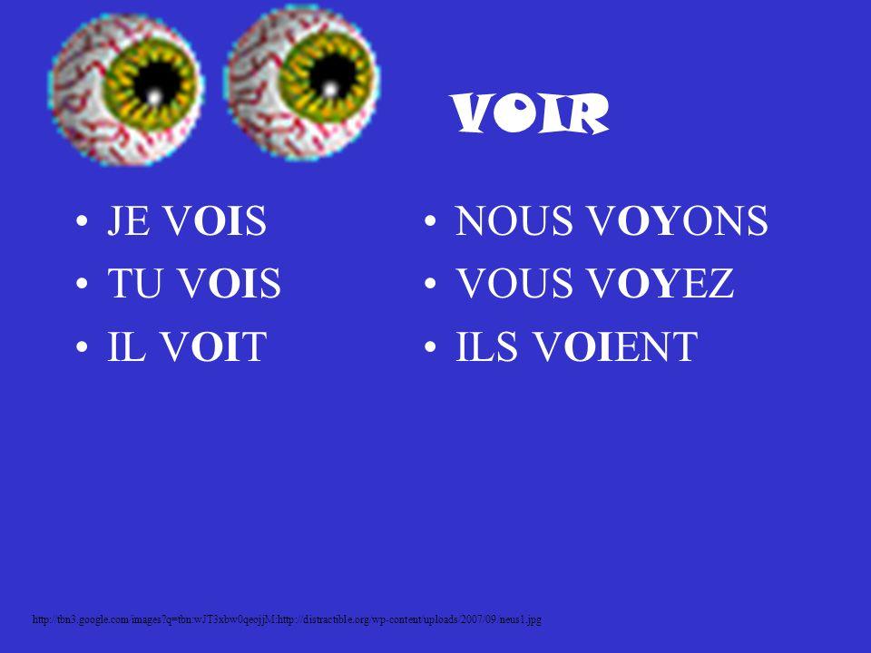 VOIR JE VOIS TU VOIS IL VOIT NOUS VOYONS VOUS VOYEZ ILS VOIENT http://tbn3.google.com/images?q=tbn:wJT3xbw0qeojjM:http://distractible.org/wp-content/uploads/2007/09/neus1.jpg