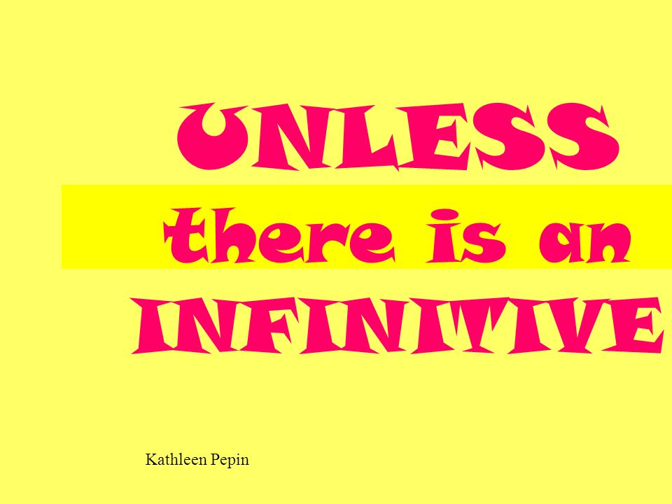 Kathleen Pepin THEN it comes BEFORE the INFINITIVE