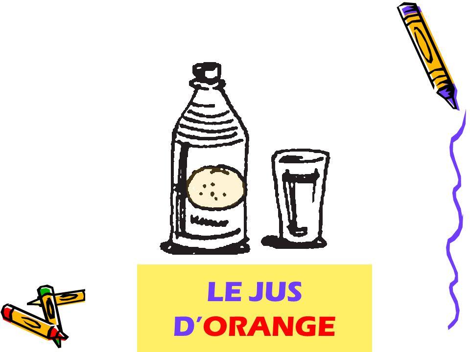 LE JUS DORANGE