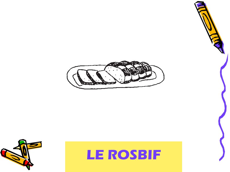 roast beef LE ROSBIF