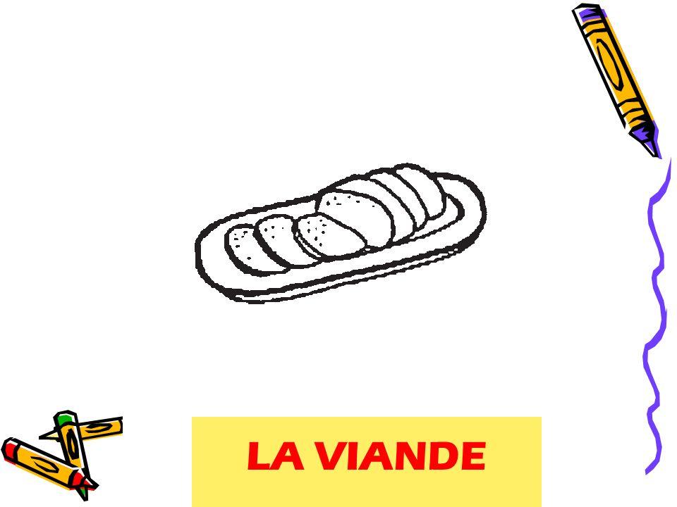 meat LA VIANDE