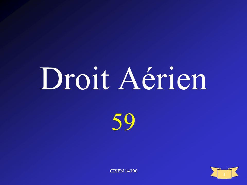 CISPN 14300 1 Droit Aérien 59