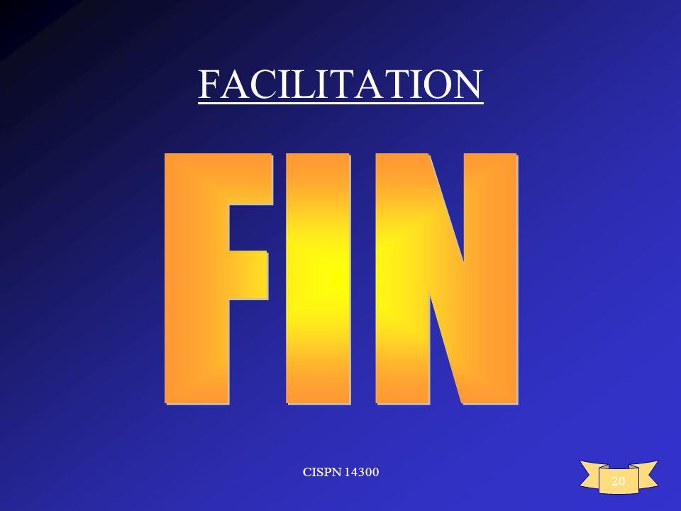 CISPN 14300 20 FACILITATION