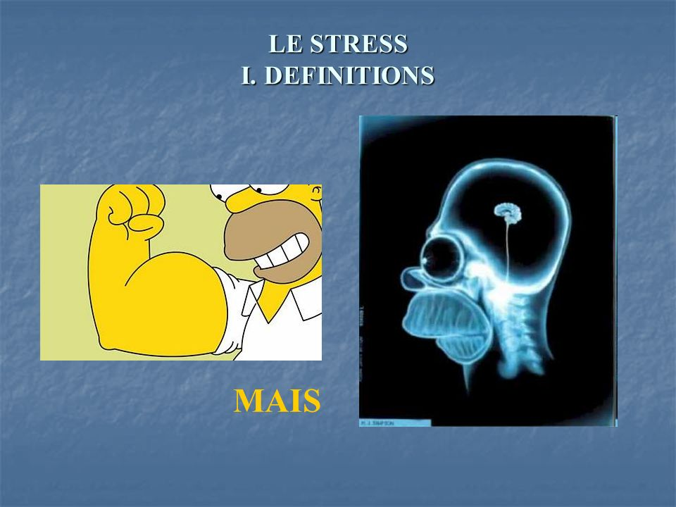LE STRESS III.