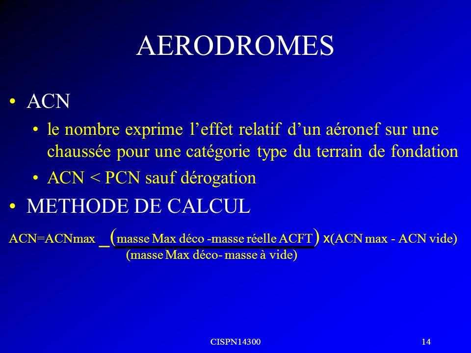 CISPN14300 13 AERODROMES CATEGORIE DE PRESSION MAXIMALE ADMISSIBLE DES PNEUS Wélevéepas de limite Xmoyenne1,5MPa Yfaible1,0MPa Z très faible0,5MPa EVA