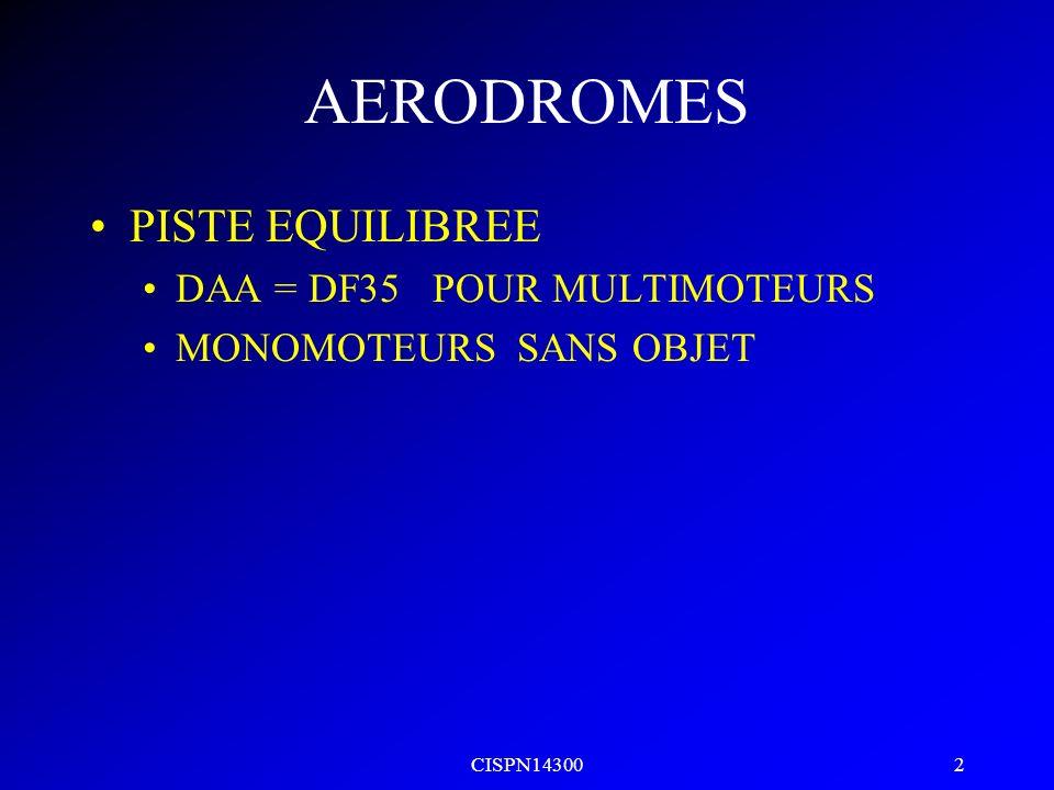 CISPN14300 1 AERODROMES ANNEXE 14