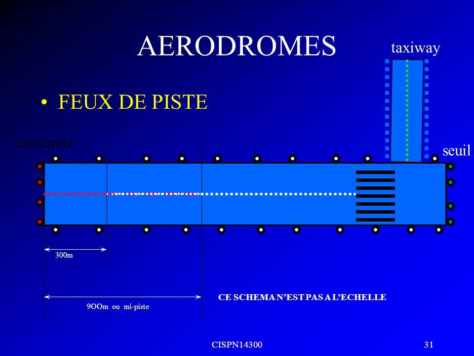 CISPN14300 30 HautOn glideTrop bas AERODROMES AVASIS 2 barres std